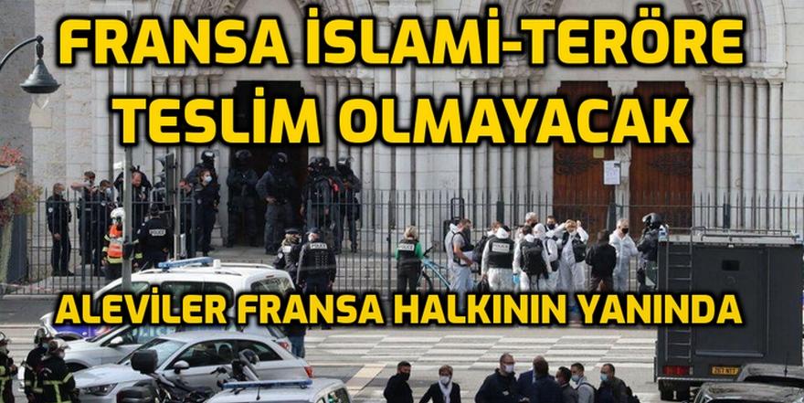 FRANSA: Vahşetin, barbarlığın ve zalimliğin aldığı her can, insanlığa karşı işlenmiş bir suçtur!