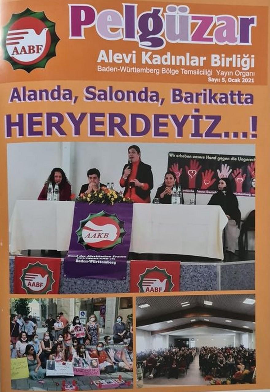 Alevi Kadınların ilk ve tek dergisi PELGÜZAR çıktı