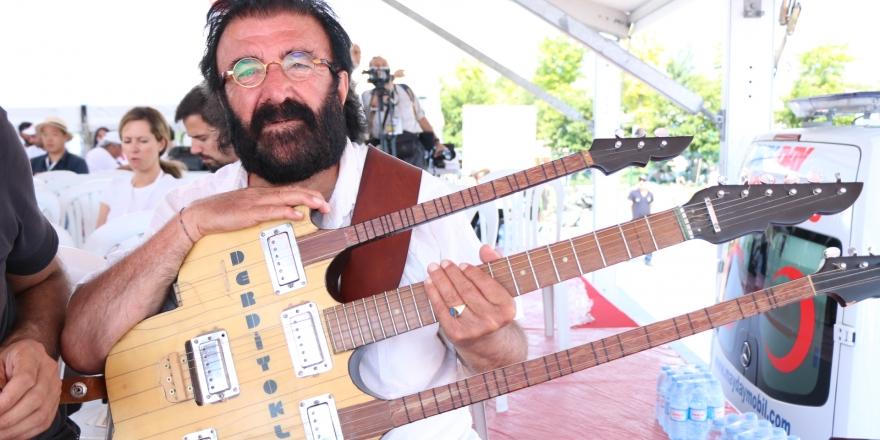 Müzisyen Derdiyok Ali Hakk'a yürüdü
