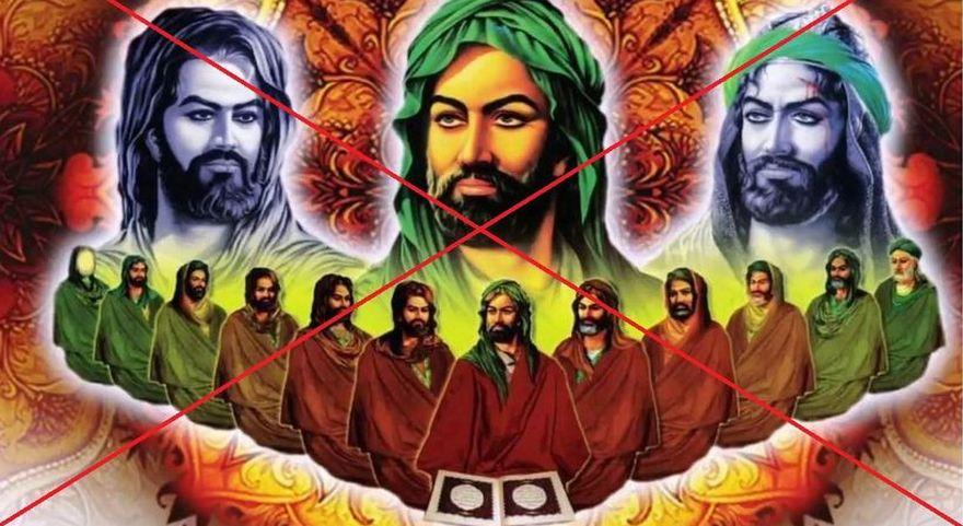12 imamlar bizden değildir