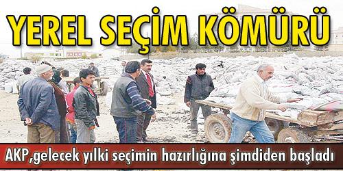 AKP, 5.5 yılda 6 milyon ton kömür dağıttı...