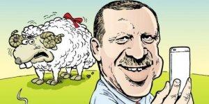 Erdoğan'ın kurban selfiesi Leman kapağında