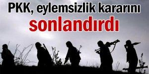 PKK İlan ettiği tek taraflı ateşkesi sonlandırdı