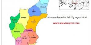 Adana Seyhan Alevi Köyleri