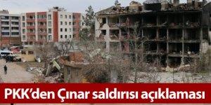 PKK'den Çınar saldırısı açıklaması