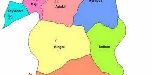 Bingöl Alevi Köyleri Haritası