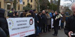 Alevilerden Avrupada Türk Konsolosluklarına Siyah Çelenk