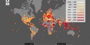 Dünyanın son 4500 yıllık interaktif savaş haritası