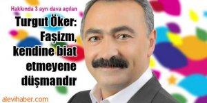 Turgut Öker'e açılan dava tüm Alevilere açılmıştır