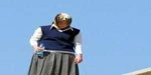 İmam Hatipli kız taciz yüzünden çatıya çıktı