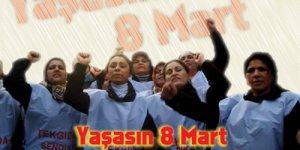 Emekçi kadınlar 7 Mart Pazar günü Kadıköy'de buluşuyor!