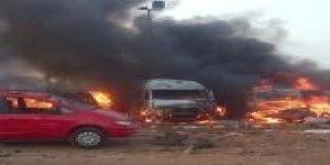 İslamcı Faşist Boko Haram Nijerya'da Kent Yaktı