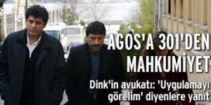 Agos Gazetesine 301 den mahkumiyet