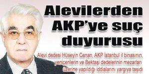 Alevilerden AKP'ye suç duyurusu
