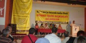 Alevi gençliği AKP'ye karşı