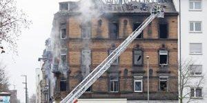 Yangın kurbanlarına son görev