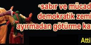 Büyük Alevi Kurultayı: AKP kendi Alevilerini Üretmekten Vazgeç!