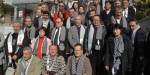 Aydınlar Filistin Halkına Destek İçin Yürüdü