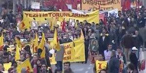 Tuzla'da Bakan Çelik'e, Polise Rağmen Grev