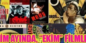 """BEKSAV'dan Ekim Ayında, """"Ekim"""" Filmleri"""