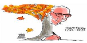Latuff Yaşar Kemal'i Çizdi