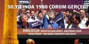 30. Yılında 1980 Çorum Katliamı Anma Etkinlikleri