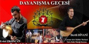 Çorum Alevi Kültür Merkezi Dayanışma Gecesi