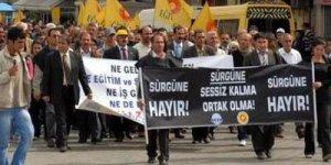 Tunceli'yi ayağa kaldıran sürgün