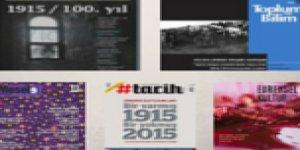 Dergilerde Ermeni Soykırımı'nın 100. Yılı
