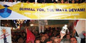 CHP'nin protestosuna da müdahale