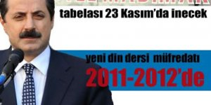 Yeni din dersi müfredatı 2011-2012'de
