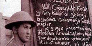 Grev Pankartına Hapis Cezası