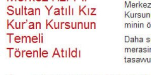 """Diyanet'in """"Pir Sultan"""" Oyunu"""