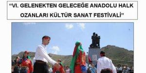 Halk Ozanları Festivalde buluşuyor