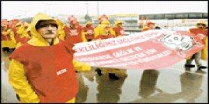 Çalışanlar Ankaraya yürüyor