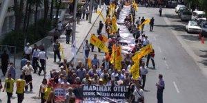 Madımak yürüyüşü Ankara'da