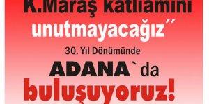 """""""Büyük Alevi Mitingi"""" 21 Aralık'ta Adana'da"""