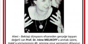 Prof. Dr. Irene Melikoff İstanbul'da anılıyor
