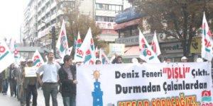 """ÖDP binasına """"Deniz Feneri"""" ablukası"""