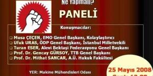 PANEL: AKP'ye Karşı Sol Muhalefeti Güçlendirmek İçin...