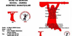 Antalya'da Dayanışma Yemeği Düzenleniyor