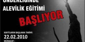 """Alibeyköy Cemevinde """"Alevilik Dersleri"""" başlıyor"""