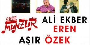 Antalya'da Birlik ve Dayanışma Konseri