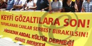 'Tutuklu canlar serbest bırakılsın'