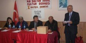 PSAKD Datça Şubesi Olağan Genel Kurulu'nu gerçekleştirdi