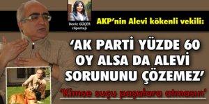 'AKP tek başına Kürt ve Alevi sorununu çözemez'