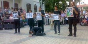 Kayıp Sahne Sanat Grubu 2 Temmuz Mitingi'ndeydi