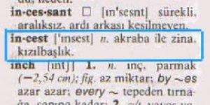 İşte o sözlük ve bir özür