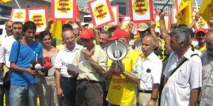 Alevilerden Taksim'de Oturma Eylemi