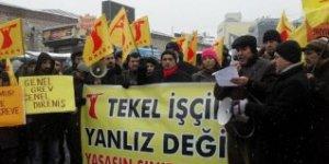 PSAKD: TEKEL işçilerinin yanında olmaya devam edeceğiz